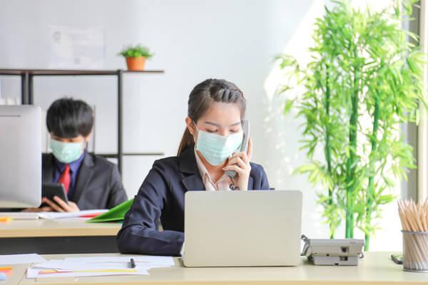 新型コロナウイルスが広まっても派遣社員は出社しているの?の画像